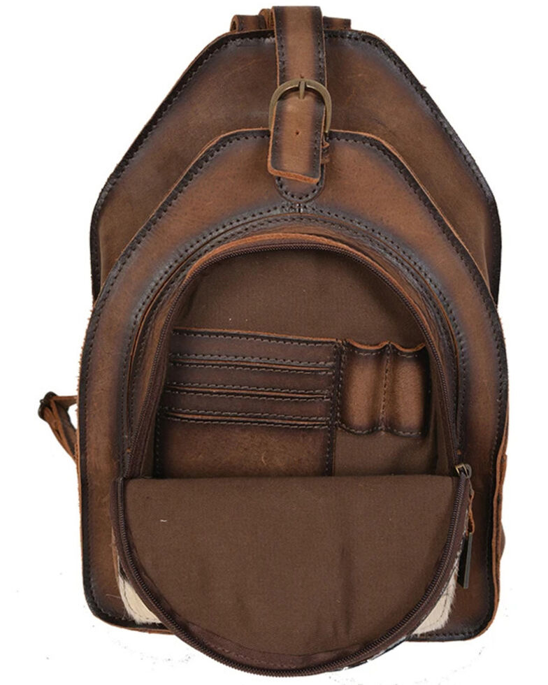 STS Ranchwear Women's Baroness Backpack, Distressed Brown, hi-res