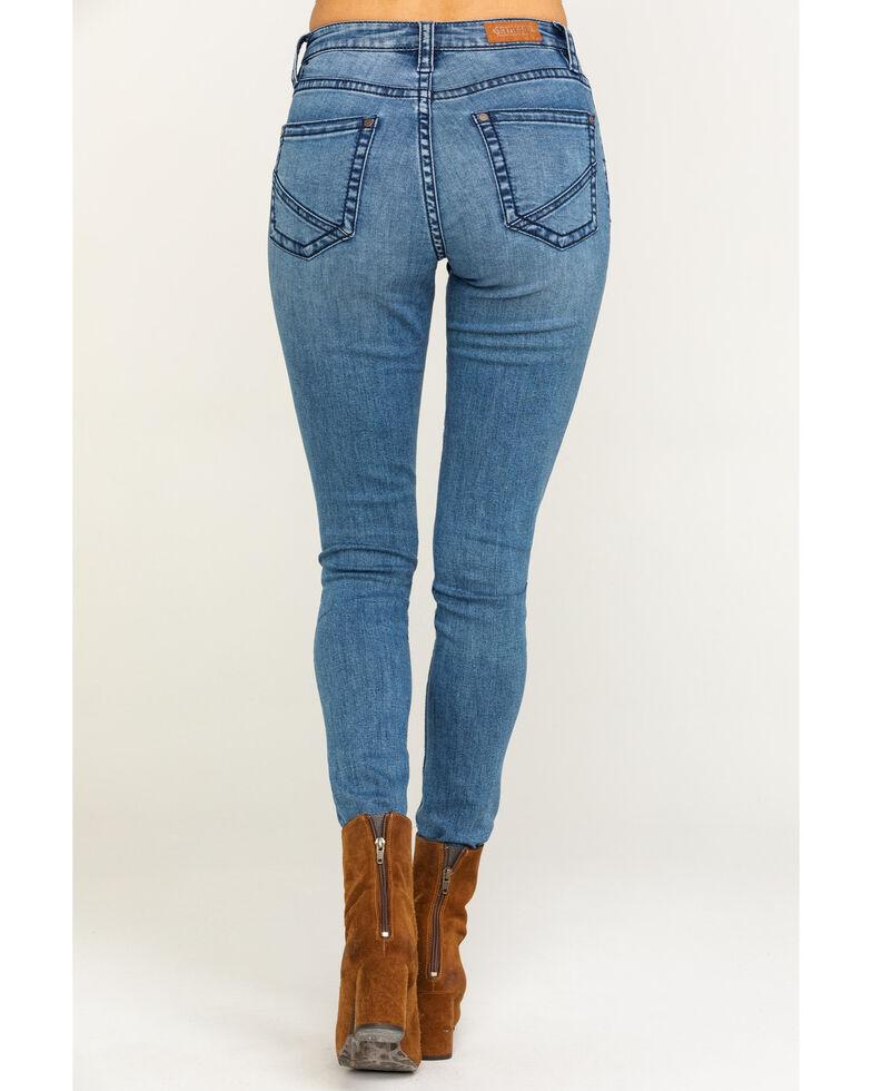 Shyanne Women's Medium Sea Breeze Hi-Rise Skinny Jeans, Blue, hi-res