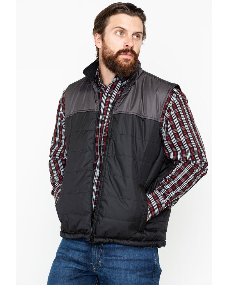 Outback Trading Co. Men's Jericho Vest, Black, hi-res