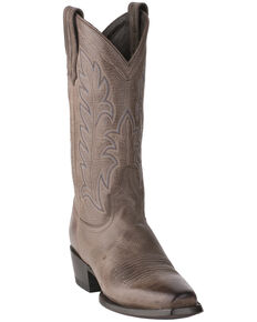 Lane Men's Ranahan Western Boots - Narrow Square Toe, Grey, hi-res