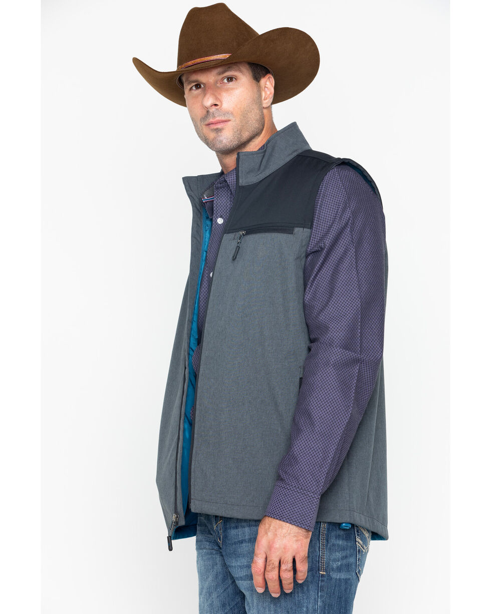 Cody James Men's Rightwood Bonded Vest , Black, hi-res