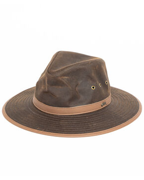Outback Trading Men's Deer Hunter Hat, Bronze, hi-res