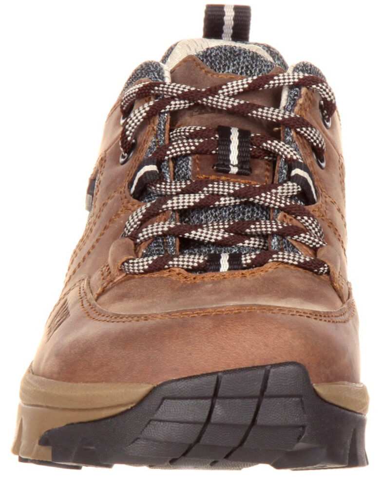 Rocky Women's Waterproof Outdoor Oxford Shoes - Round Toe, Brown, hi-res