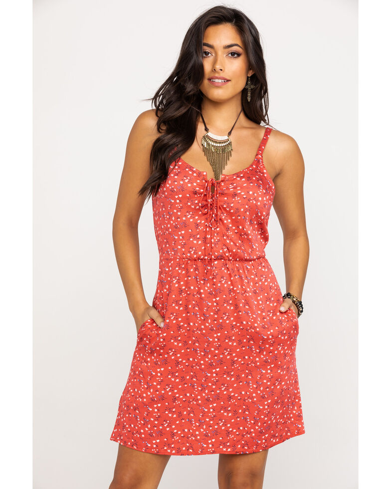 Idyllwind Women's Easy Like Sunday Morning Dress, Red, hi-res