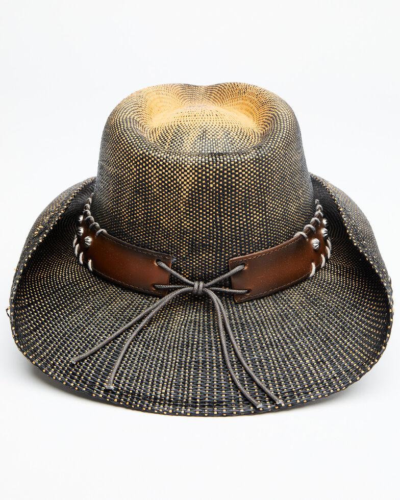 Cody James Boys' Brown O John Bangor Straw Western Hat , Brown, hi-res