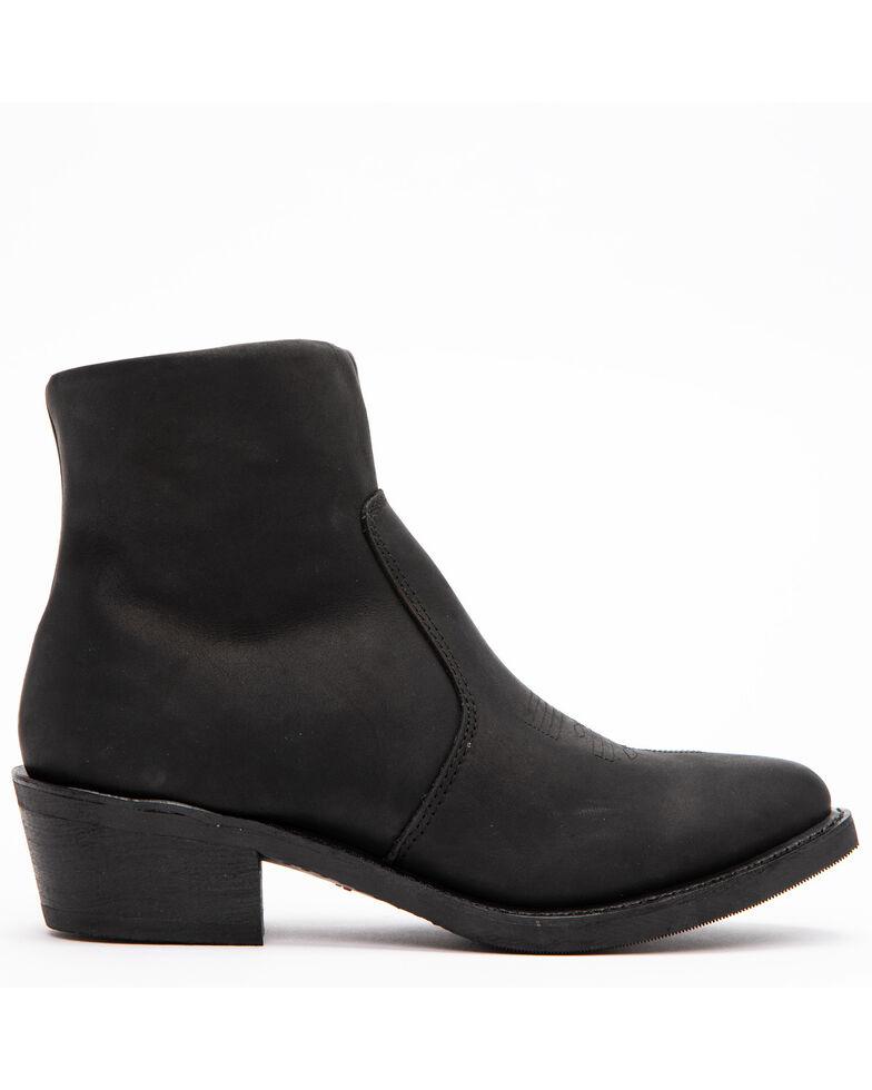 Durango Men's Black Side-Zip Western Boots - Medium Toe, Black, hi-res