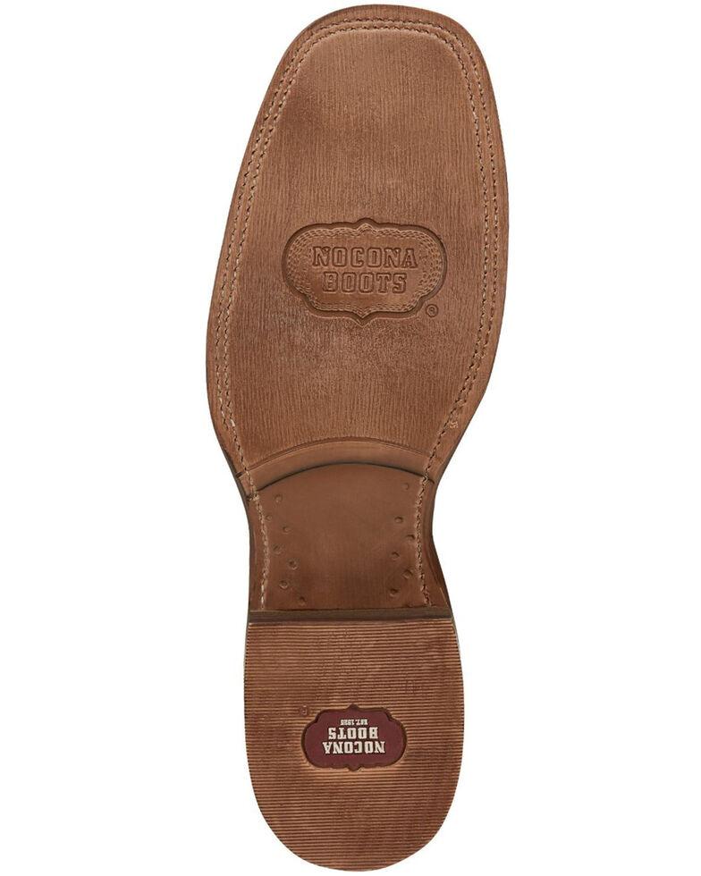 Nocona Men's Cohan Brown Western Boots - Square Toe, Brown, hi-res