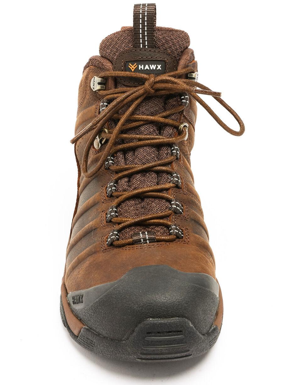 Hawx® Men's Axis Hiker Boots - Composite Toe, Brown, hi-res