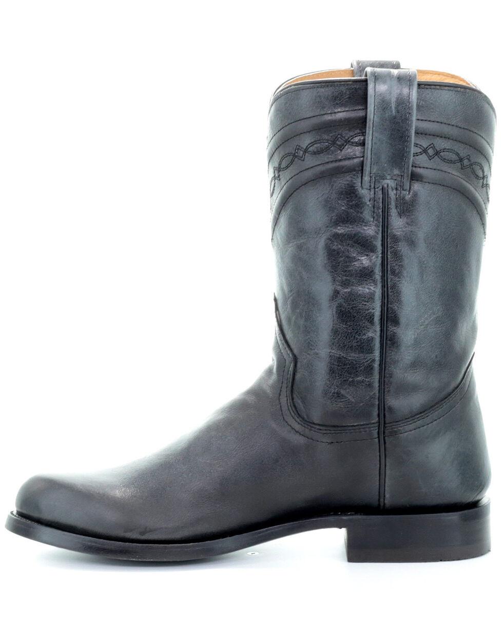 Corral Men's Lee Black Western Boots - Narrow Square Toe, Black, hi-res