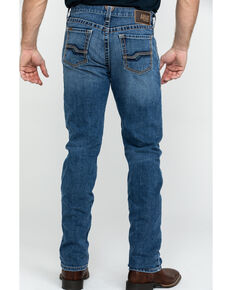 Ariat Men's M1 Vintage Stackable Stretch Straight Jeans , Blue, hi-res