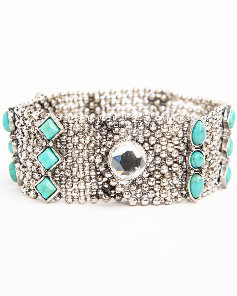 Idyllwind Women's Wander West Snap Bracelet, Silver, hi-res