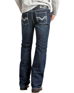 Rock and Roll Cowboy Pistol Regular Fit Flame Resistant Jeans - Boot Cut , Indigo, hi-res