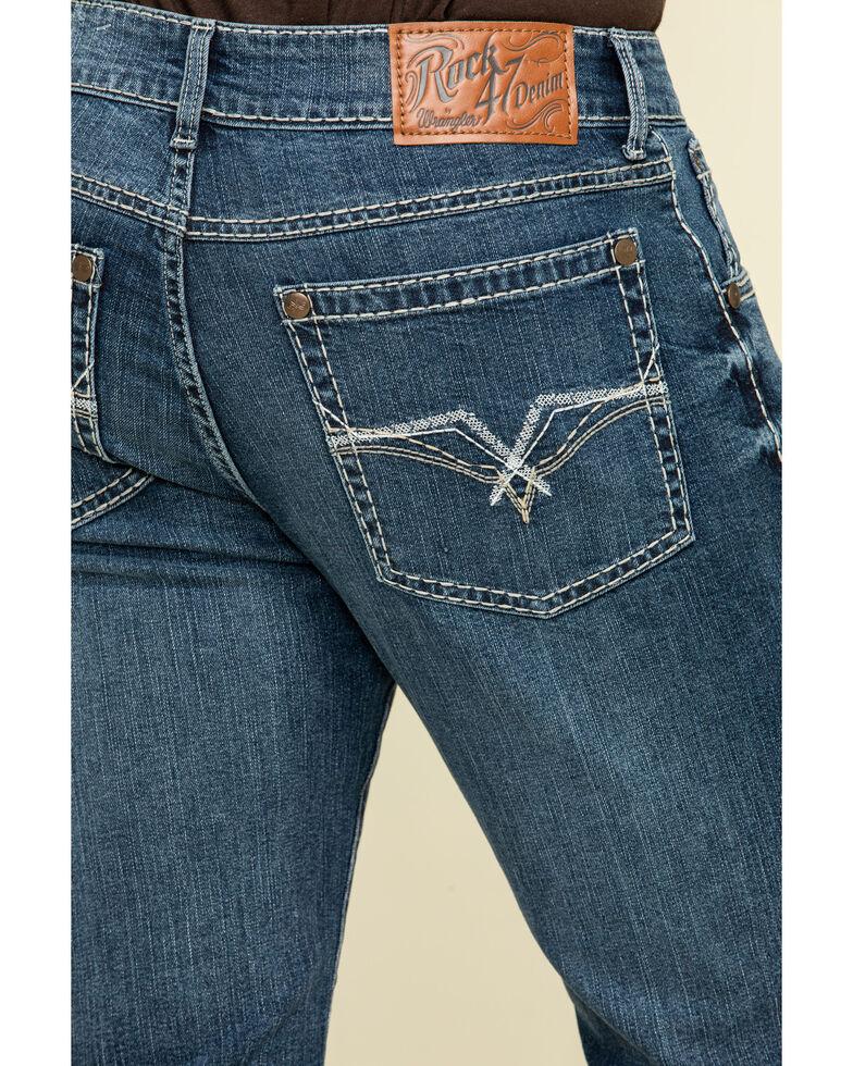 Rock 47 By Wrangler Men's Reverb Stretch Slim Bootcut Jeans , , hi-res