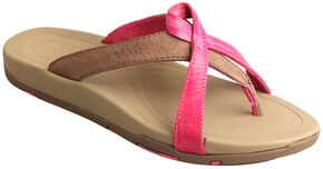 Twisted X Women's Tough Enough to Wear Pink Sandals , Pink, hi-res