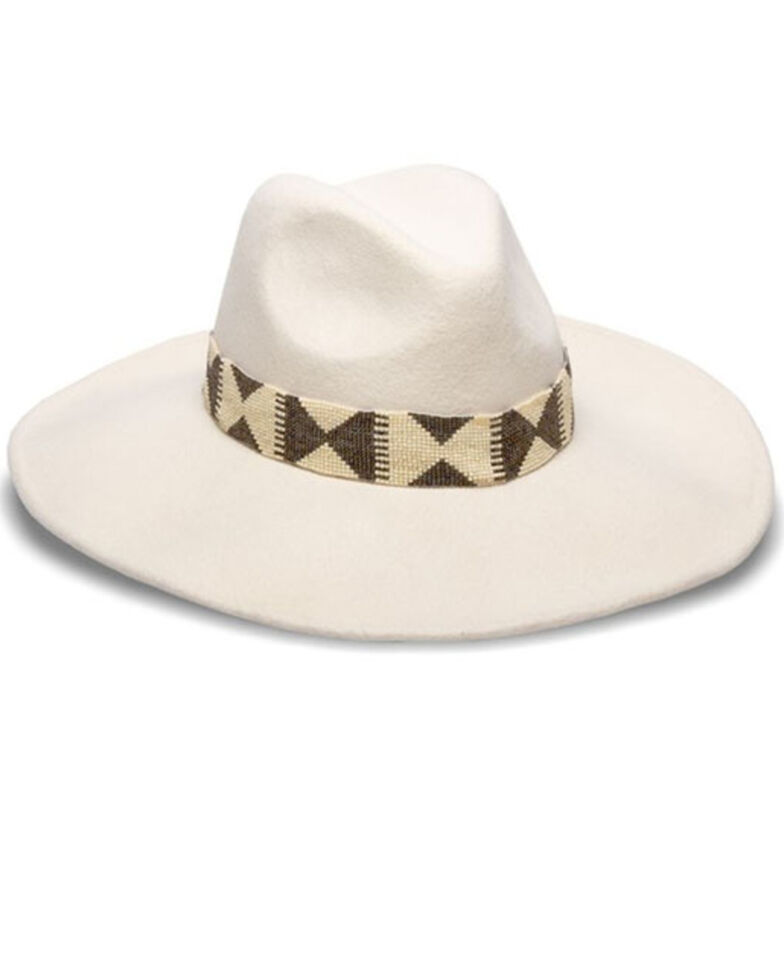 Nikki Beach Women's Bonsoa Wool Felt Western Hat , , hi-res