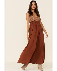 Wishlist Women's Rust Tank Maxi Dress, Rust Copper, hi-res