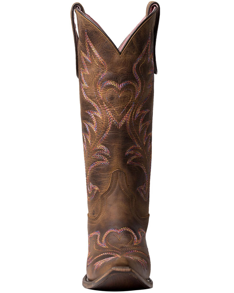 Junk Gypsy by Lane Women's Wildheart Western Boots - Snip Toe, Brown, hi-res