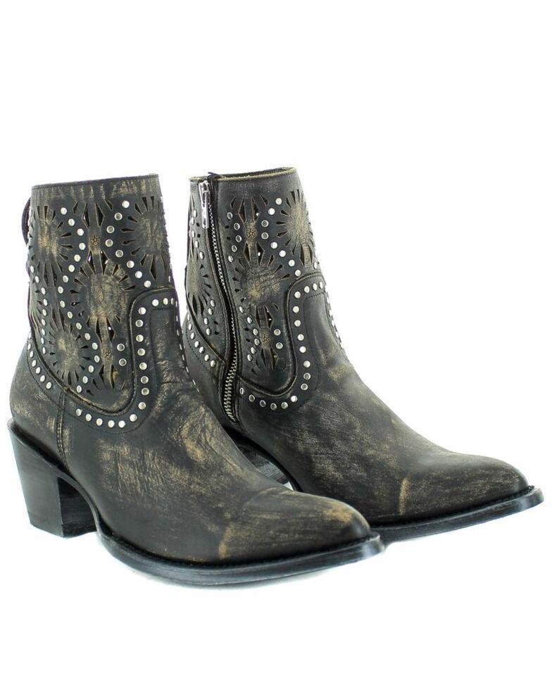 Old Gringo Women's Reeve Fashion Booties - Snip Toe, Black, hi-res