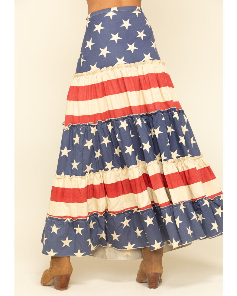 Tasha Polizzi Women's Grand Swing Skirt, Multi, hi-res