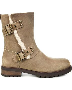 Ugg Women's Niels II Buckle Boots , Brown, hi-res