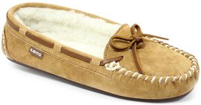 Lamo Footwear Women's Britain Moccasins, Chestnut, hi-res