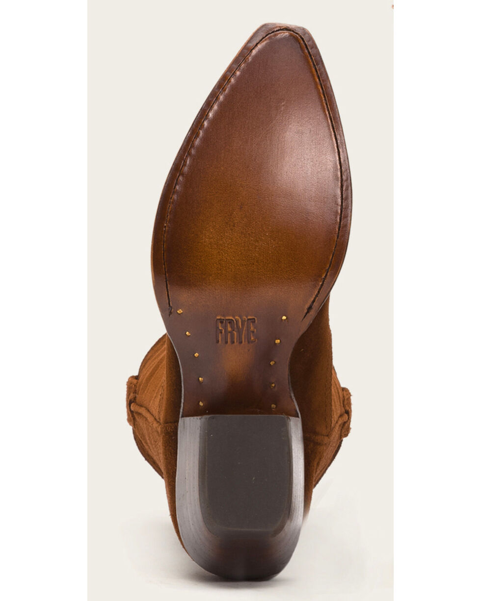 Frye Women's Brown Sacha Tall Boots - Pointed Toe , Brown, hi-res