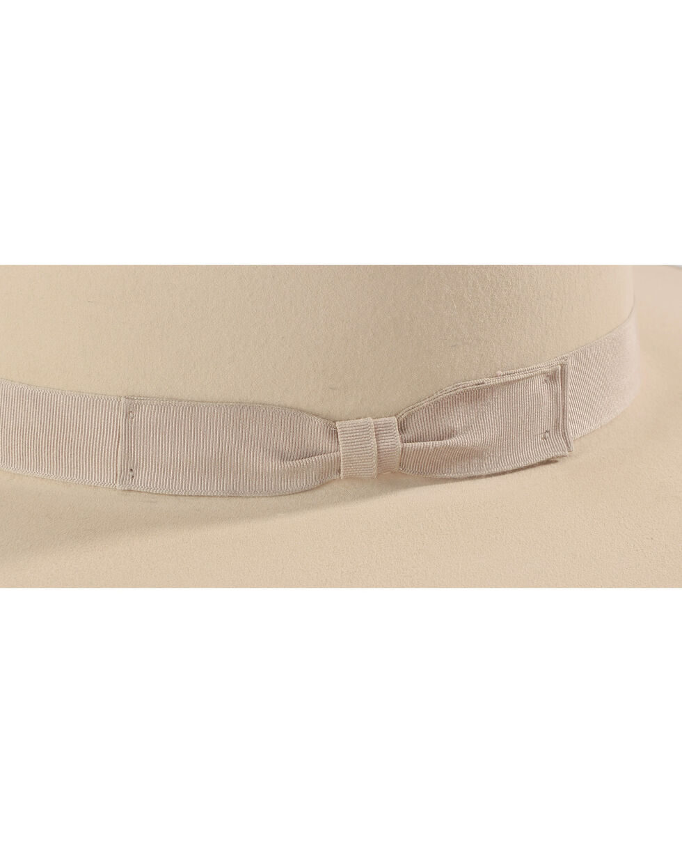 Serratelli Men's 6X Fur Felt 9-Line Silver Bullet Western Hat, Silver Belly, hi-res