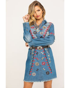 Tasha Polizzi Women's Indigo Juniper Dress, Blue, hi-res