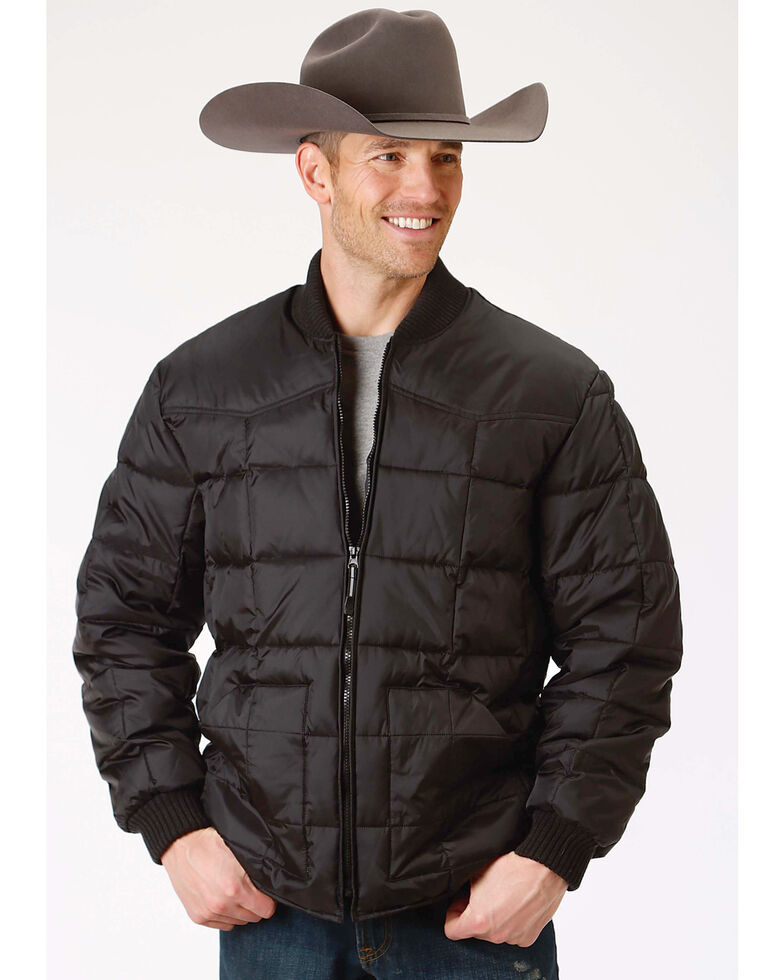 Roper Men's Rangegear Insulated Jacket, Black, hi-res