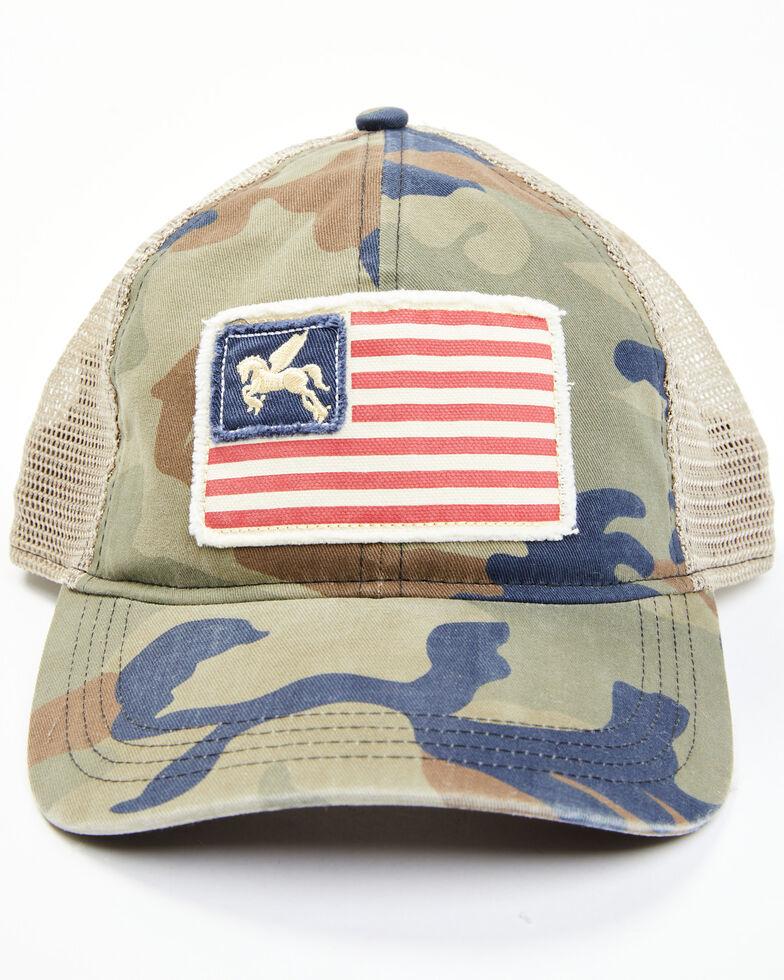 Idyllwind Women's Star Spangled Camo Baseball Cap , Camouflage, hi-res