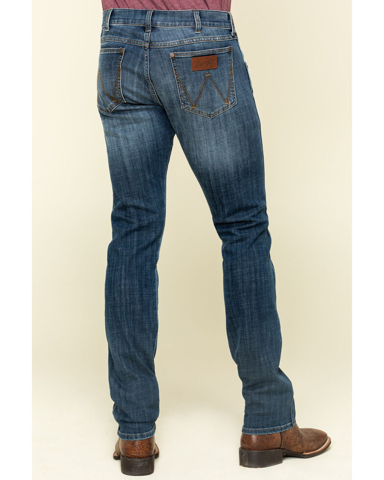 Wrangler Retro Men's Sunset Stretch Low Skinny Jeans , Blue, hi-res