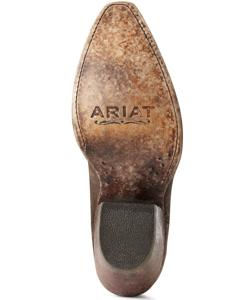 Ariat Women's Eclipse Studded Fashion Booties - Snip Toe, Brown, hi-res