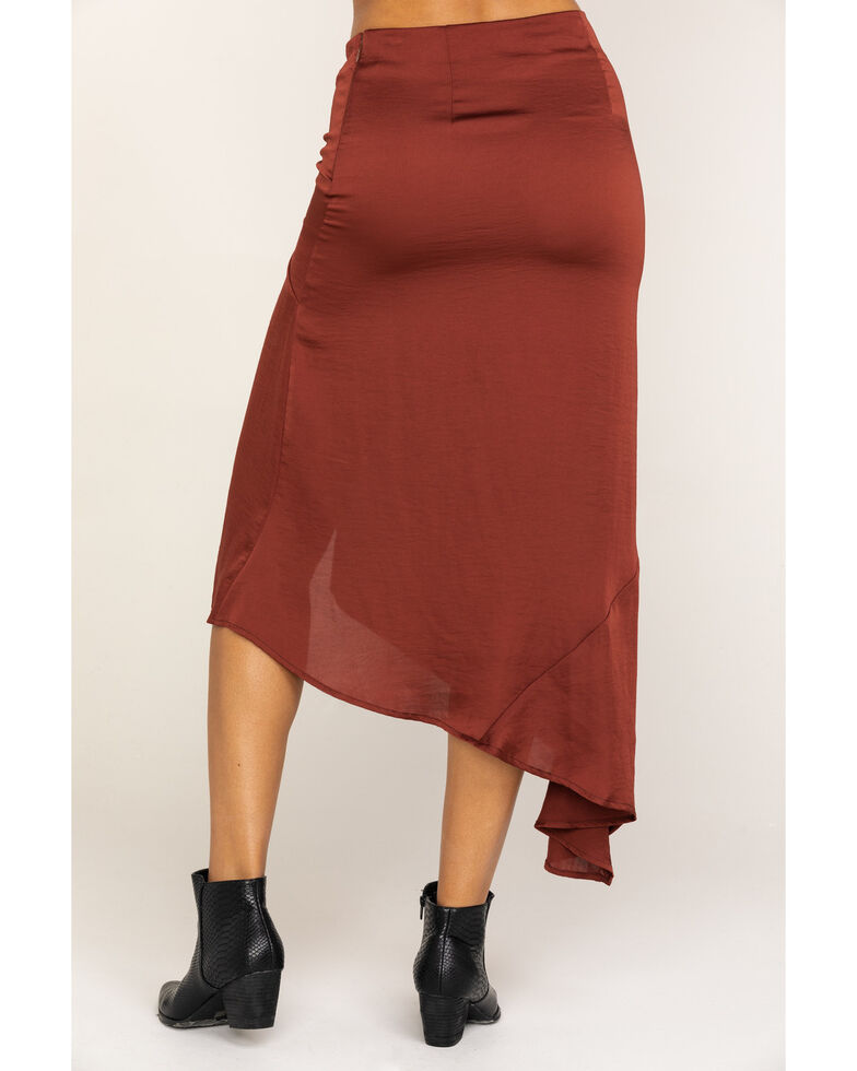 Free People Women's Lola Skirt, Brown, hi-res