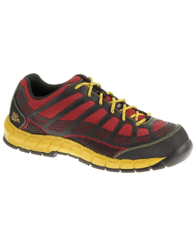 Caterpillar Streamline Work Shoes - Composite Toe, Red, hi-res
