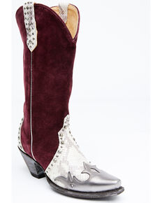 Idyllwind Women's Brandywine Western Boots - Snip Toe, Wine, hi-res