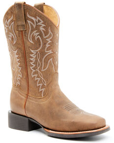Shyanne Women's Tan Performance Western Boots - Square Toe, Tan, hi-res