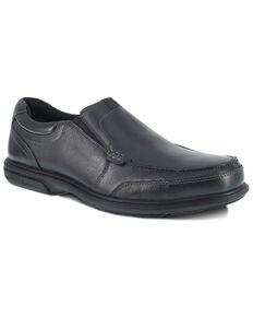 Florsheim Men's Loedin Work Boots - Steel Toe, Black, hi-res
