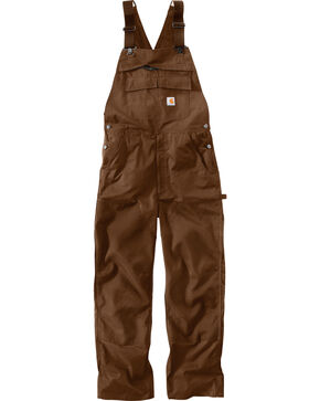 Carhartt Extremes® Dark Brown Force Bib Overalls , Dark Brown, hi-res