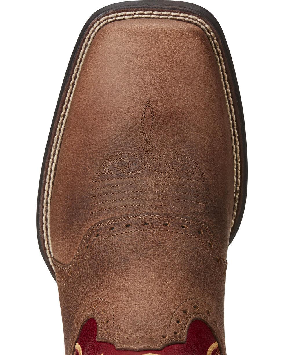 Ariat Men's Sport Sidewinder Performance Cowboy Boots - Square Toe, Brown, hi-res