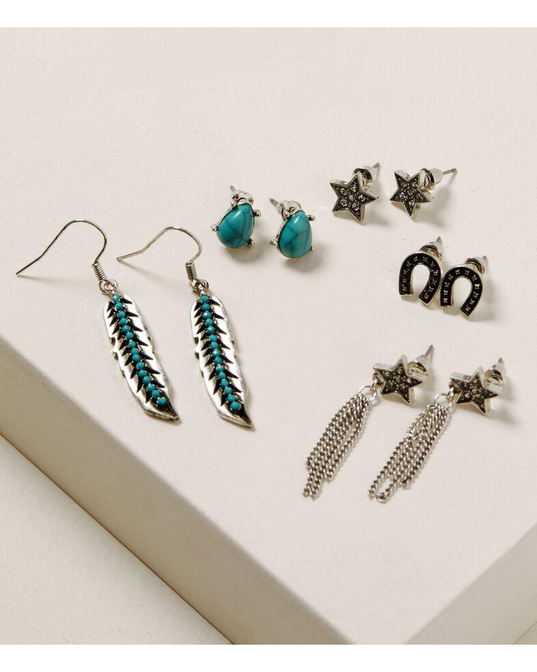 Idyllwind Women's Star Struck Earring Set, Silver, hi-res