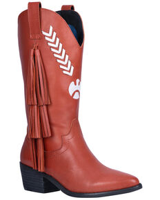 Dingo Women's Rust Thunderbird Western Boots - Round Toe, Rust Copper, hi-res