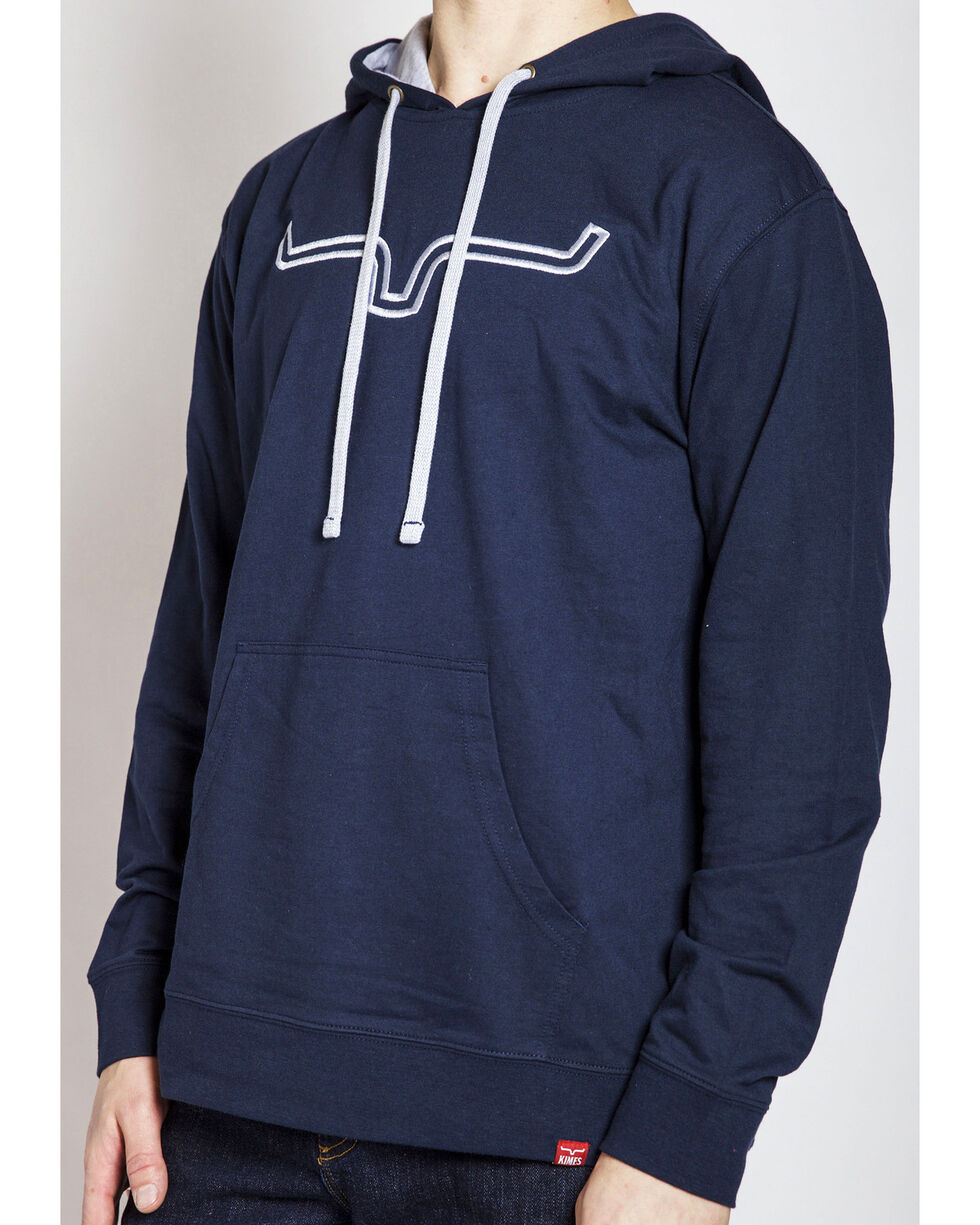 Kimes Ranch Men's Double-Down Hoodie, Navy, hi-res