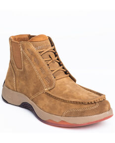 Cody James Men's Tan Chelsea Boots - Moc Toe, Tan, hi-res