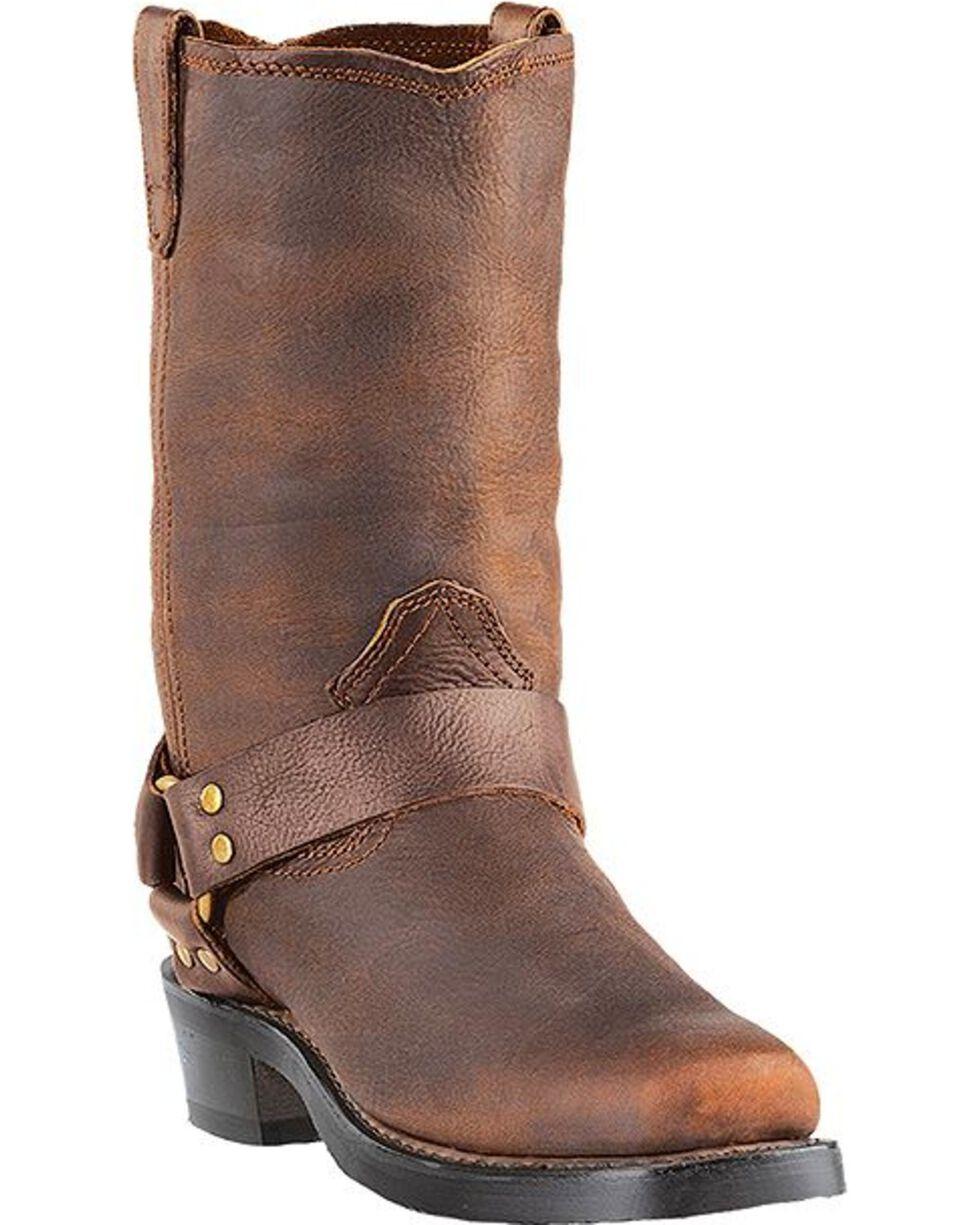 Dingo Men's Dean Harness Boots - Snoot Toe, Gaucho, hi-res