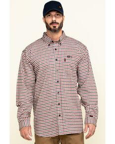 Cinch Men's FR Multi Plaid Long Sleeve Work Shirt - Big , Multi, hi-res
