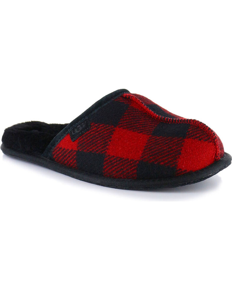 6c4af9192217 UGG® Men s Scuff Plaid Slippers - Country Outfitter