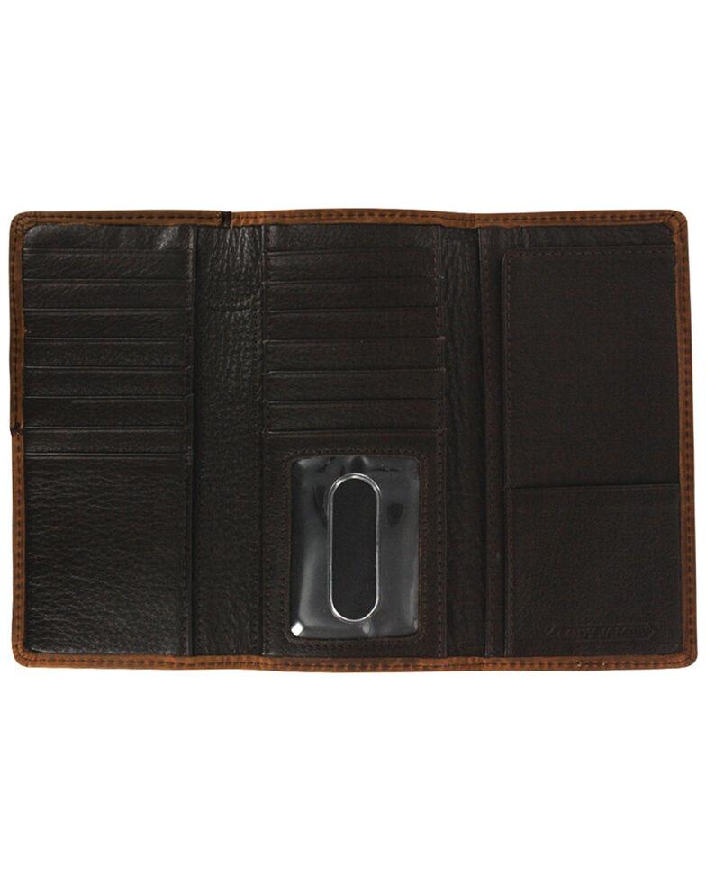 Cody James Men's Leather Tri-fold Wallet, Brown, hi-res