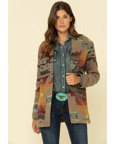 Pendleton Women's Sierra Wool Blazer, Multi, hi-res