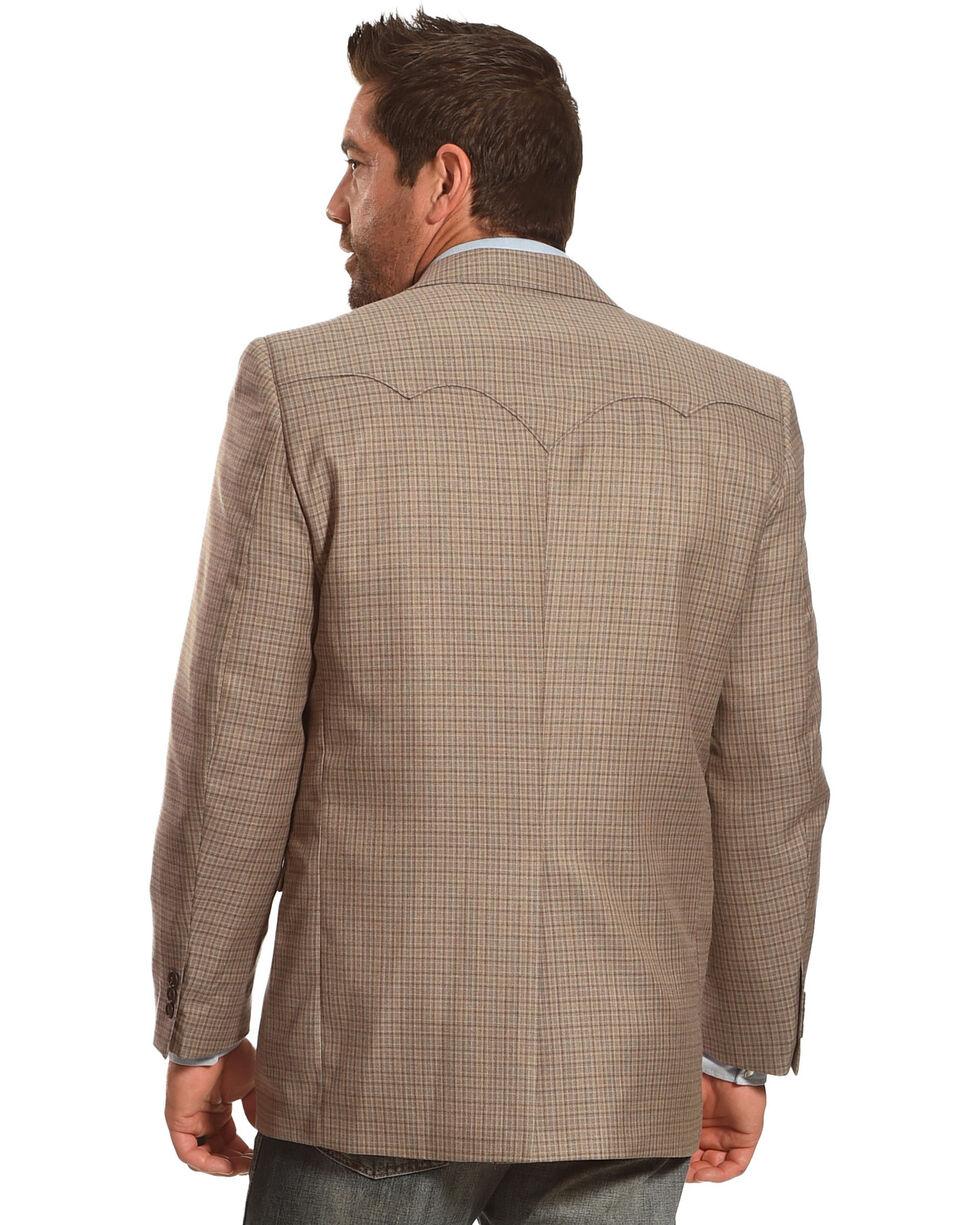 Circle S Plano Sport Coat - 40 Long, Taupe, hi-res