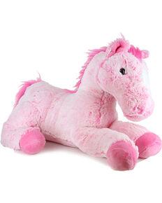 "Aurora Pink Hair Don't Care 16"" Flopsy Horse, Pink, hi-res"